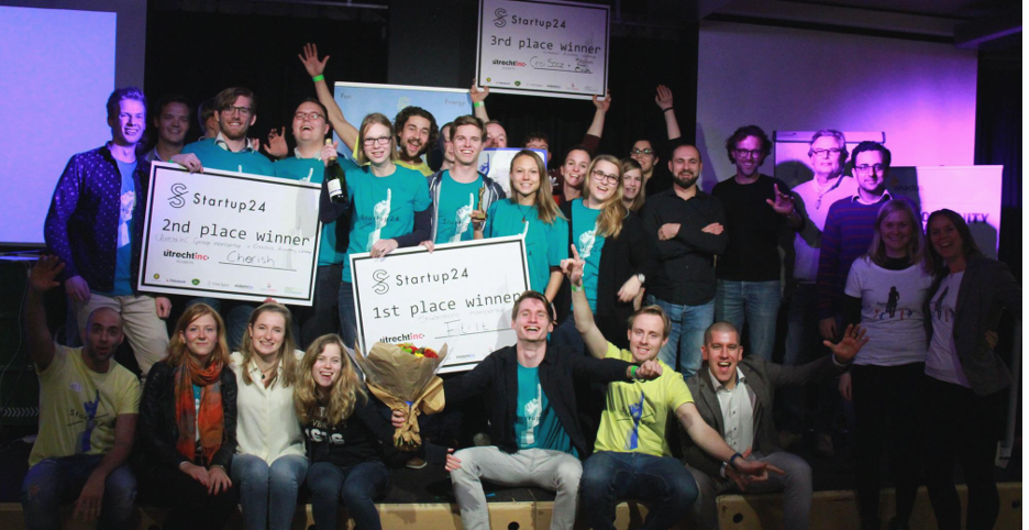 Creativity, hard work and determination: Startup24 Utrecht